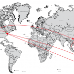 Beef global map
