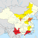 Choy Sum regional map