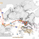 Dragon fruit-Pinapple local map